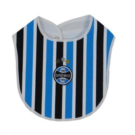 Babador Bebê Tricolor Grêmio