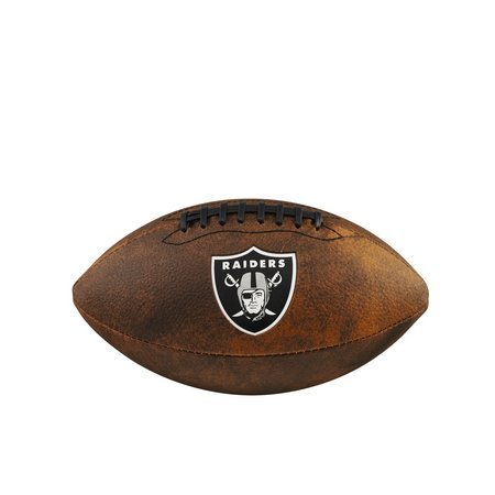 Bola Futebol Americano NFL Jr - Oakland Raiders