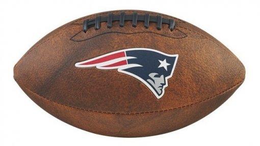 Bola Futebol Americano NFL Jr - New England Patriots