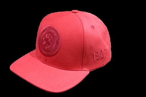 Boné Aba Curva Logo Alto Relevo Bordado Internacional