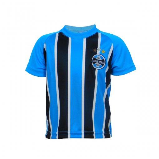 Camisa Grêmio Dry Bebê Tricolor