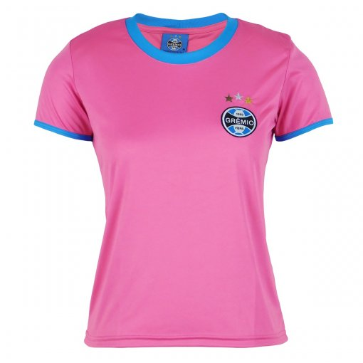 Camisa Grêmio Feminina Dry Rosa
