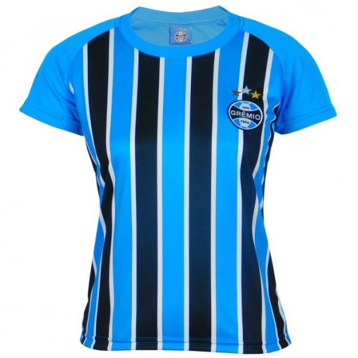 Camisa Grêmio Feminina Dry Tricolor