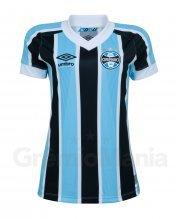 Camisa Grêmio I Umbro 2021 Feminina
