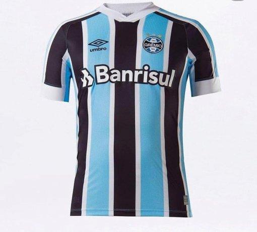 Camisa Grêmio I Umbro 2021 Masculina