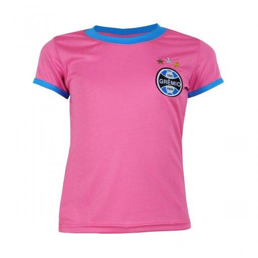 Camisa Grêmio Infantil Dry Rosa