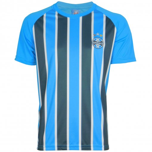 Camisa Grêmio Masculina Dry Tricolor
