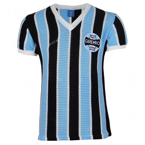 Camisa Grêmio Retrô 1973 Nº7 Masculina