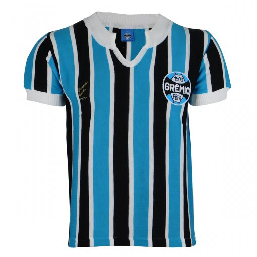 Camisa Grêmio Retrô 1977 Nº 9 Masculina