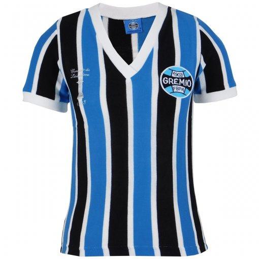 Camisa Grêmio Retrô Libertadores 1983 Feminina