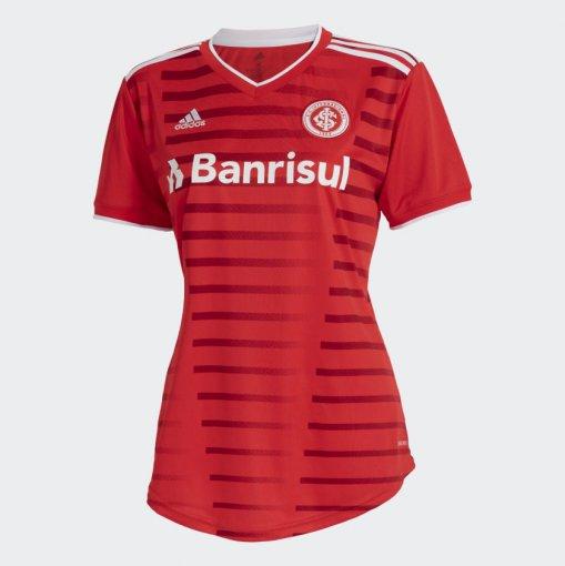 Camisa Internacional I Adidas 2021 Feminina