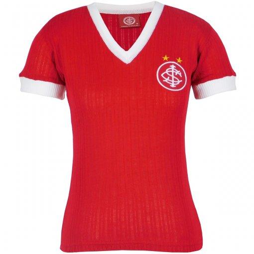 Camisa Internacional Retrô Canelada Feminina N°7