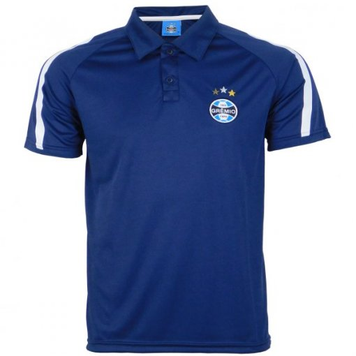 Camisa Masculina Polo Dry Grêmio