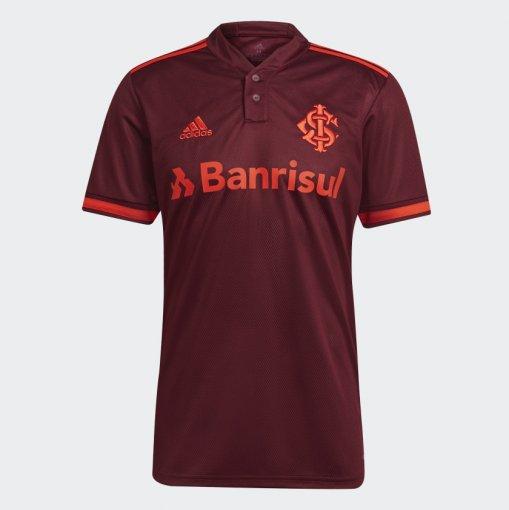Camisa OF3 Internacional Adidas 2021 Masculina