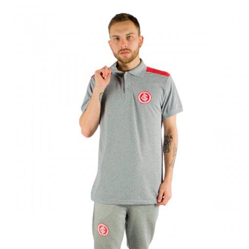 Camisa Polo Recorte Mescla Internacional