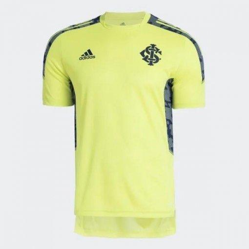 Camisa Treino Internacional Adidas 2021 Verde