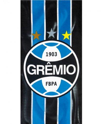 Toalha Banho Velour Estampada - Grêmio