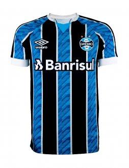 Imagem - Camisa Grêmio Umbro Masculina I Tricolor Torcedor 2020  cód: 100053528