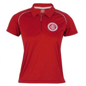 Imagem - Baby Look Polo Dry Vermelha Internacional cód: INT485