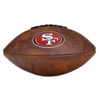 Imagem - Bola Futebol Americano NFL Jr - Logo San Francisco cód: WTF1539XBSF
