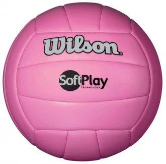 Imagem - Bola de Vôlei Wilson Soft Play cód: WTH3501XPNK