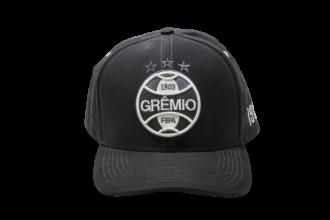 Imagem - Boné Grêmio Aba Curva Logo Branco Bordado Unissex cód: GRE333