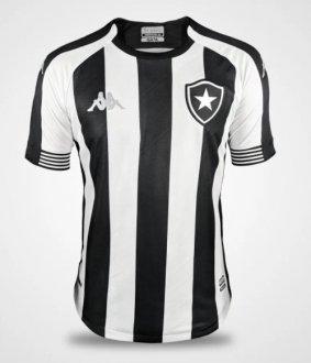Imagem - Camisa Botafogo Oficial I Alvinegra 2020/21 Kappa cód: EKBO21208005