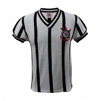 Imagem - Camisa Corinthians Retrô Comemorativa 1970/80 Branca cód: COR01