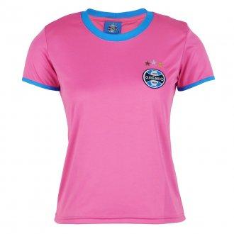 Imagem - Camisa Grêmio Feminina Dry Rosa cód: G641