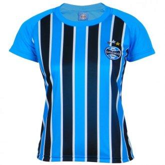 Imagem - Camisa Grêmio Feminina Dry Tricolor  cód: G607F