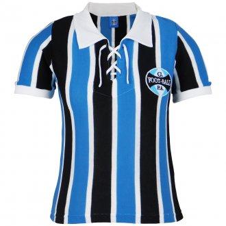 Imagem - Camisa Grêmio Retrô 1929 C/ Cordinha Feminina cód: G528F