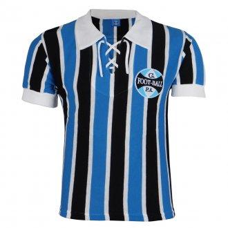 Imagem - Camisa Grêmio Retrô 1929 C/ Cordinha Masculina cód: G528