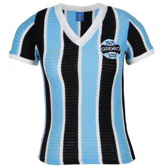 Imagem - Camisa Grêmio Retrô 1973 Nº7 Feminina cód: G469F