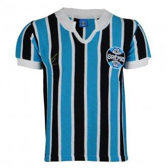 Imagem - Camisa Grêmio Retrô 1977 Nº 9 Masculina  - G341