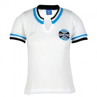Imagem - Camisa Grêmio Retrô 1981 Branca Feminina cód: G468F