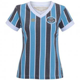 Imagem - Camisa Grêmio Retrô 1983 Umbro Feminina cód: 0018