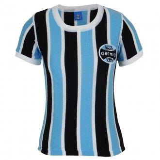 Imagem - Camisa Grêmio Retrô N° 3 Feminina cód: G654F