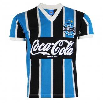 Imagem - Camisa Grêmio Retrô Coca-Cola 1989 N°8 Masculina  cód: G650