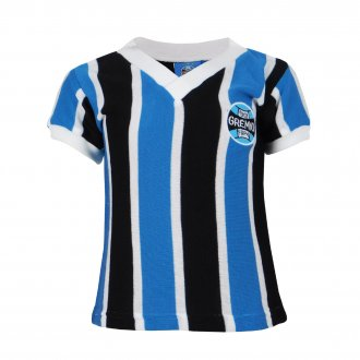Imagem - Camisa Grêmio Retrô Infantil  cód: G536I