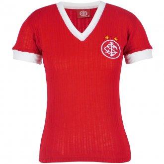Imagem - Camisa Internacional Retrô Canelada Feminina N°7 cód: INT397