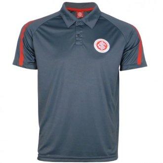 Imagem - Camisa Polo Dry Cinza Internacional cód: INT549