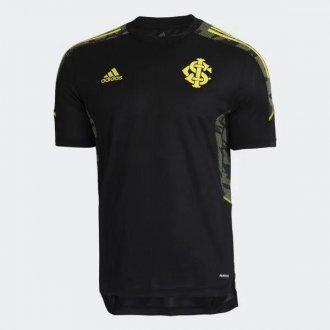Imagem - Camisa Treino Internacional Adidas 2021 Preta cód: GL0285