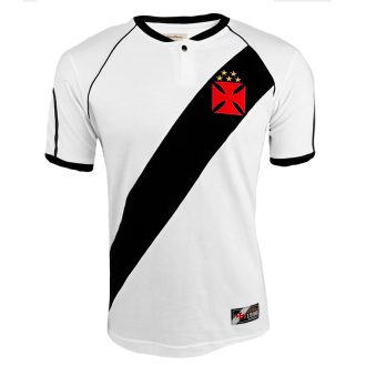 Imagem - Camisa Vasco da Gama Retrô Masculina - Branca  cód: 1000158