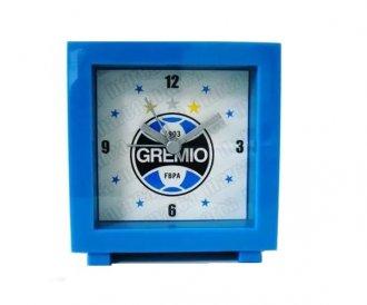 Imagem - Relógio Despertador Quadrado Grêmio cód: 2143L14