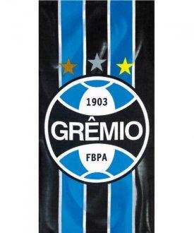 Imagem - Toalha Banho Velour Estampada - Grêmio cód: 63797