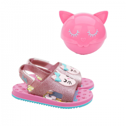 Imagem - Chinelo Slider Grendene Kids Barbie Fashion - 099535