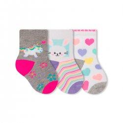 Imagem - Meia Infantil Selene Kit C/3 21 A 24 - 108972