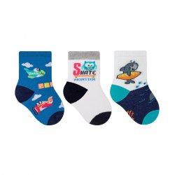 Imagem - Meia Infantil Selene Kit C/3 21 A 24  - 108981