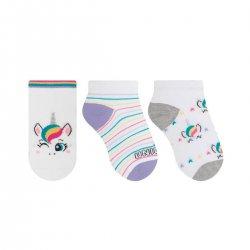 Imagem - Meia Infantil Selene Kit C/3 29 A 34 - 108975