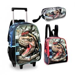 Imagem - Mochila Infantil Clio Kit T-Rex Attack  - 107882